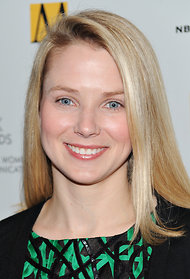 Marissa Mayer, the new chief of Yahoo.