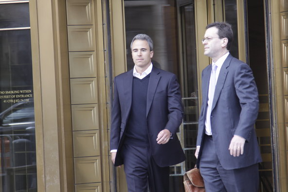 Michael Steinberg entered a plea of not guilty in Federal District Court in Manhattan on Friday and was freed on $3 million bail.
