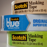3M is the maker of Post-it notes and Scotch Tape.