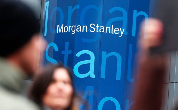 Morgan Stanley's headquarters in Manhattan. The bank plans to cut 6 percent of its institutional securities unit staff.