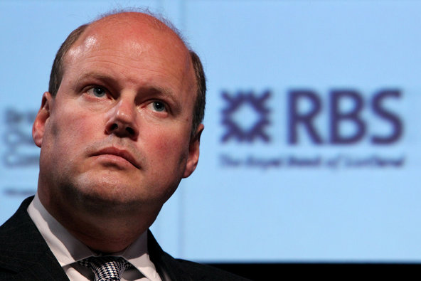 Stephen Hester, chief of the Royal Bank of Scotland.