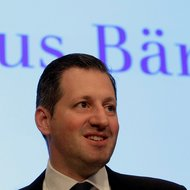 Boris Collardi, chief of the Swiss bank Juluis Baer.