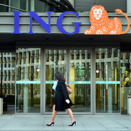 ING office's in Brussels, Belgium.
