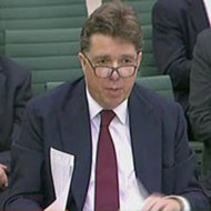 Paul Tucker, a Bank of England official, testified before a British parliamentary committee on Monday.