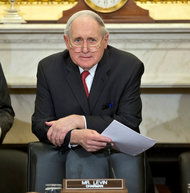 Senator Carl Levin of Michigan has criticized prosecutors for not doing more to hold banks accountable for their actions.