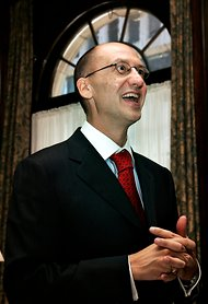 Stephan Cretier, chief executive of Garda World Security, in 2007.