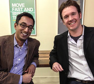 After two months, Apu Gupta (left) and Nick Shiftan knew Storability was not working.