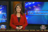 "Sarah Palin on ""Real American Heroes"" on Fox News in 2010."