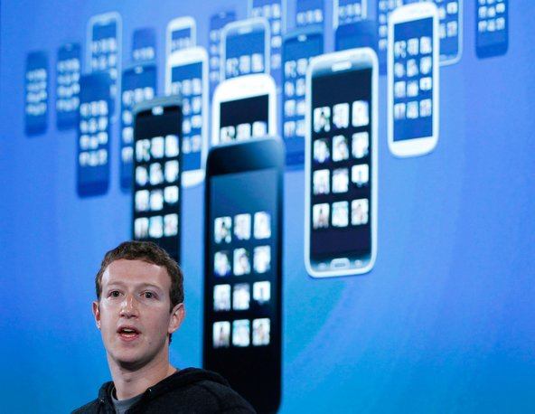 Mark Zuckerberg, chief of Facebook, one of several companies that denied a direct role in government spying.