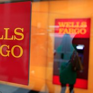 A branch of Wells Fargo in New York.