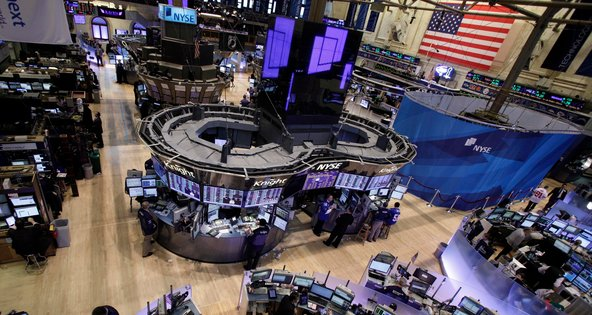 The normally busy trading floor will be empty on Monday.
