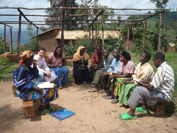 Fabrice P. Tourre spent time volunteering on a coffee farm in Rwanda.