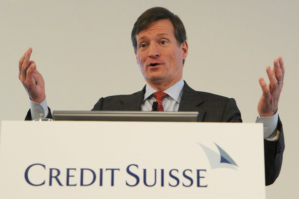 Brady Dougan, chief of Credit Suisse.