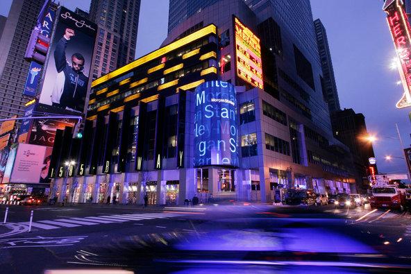 Morgan Stanley's headquarters in New York.