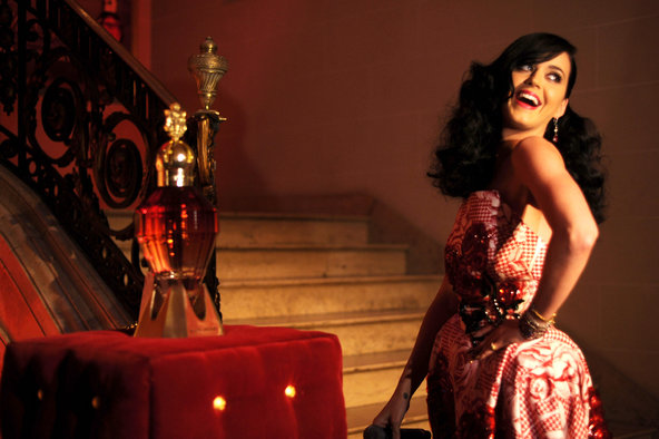 Coty makes several celebrity-branded perfumes, including one by Katy Perry.