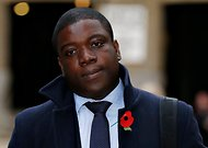 The former UBS trader Kweku Adoboli arriving at court in London on Monday.