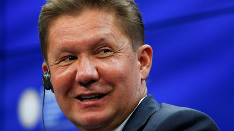CEO of Russia's state gas giant Gazprom Alexei Miller © Sergei Karpukhin