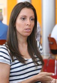 Alexandra Mayzler, owner of Thinking Caps Tutoring