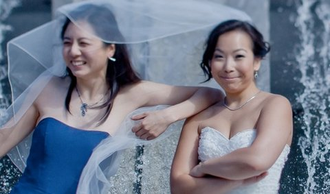 Wanderable founders: Jenny Chen, left, and Marcela Miyazawa.