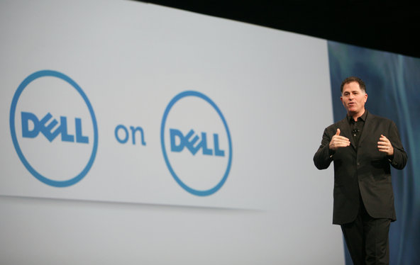 Michael Dell, the chairman and chief executive of Dell.