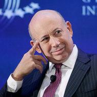 Lloyd Blankfein, chief of Goldman Sachs.