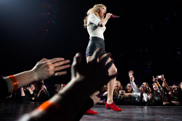 Sony's entertainment unit includes a film studio and one of the largest music labels in the world, featuring artists like Taylor Swift.