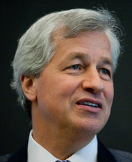"""""""I believe that you are seeing real loan growth,"""" said Jamie Dimon, chief executive of JPMorgan Chase."""