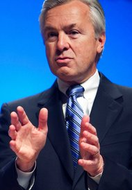 John G. Stumpf, Wells Fargo's chief executive, posted a 22 percent rise in earnings for the quarter.
