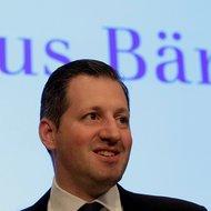 Boris Collardi, chief of the Swiss bank Juluis Baer.