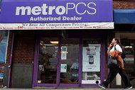 A MetroPCS store in Manhattan.