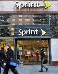 A Sprint store on the Upper East Side of Manhattan.