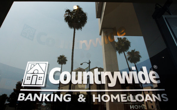 Bank of America bought Countrywide in 2008.