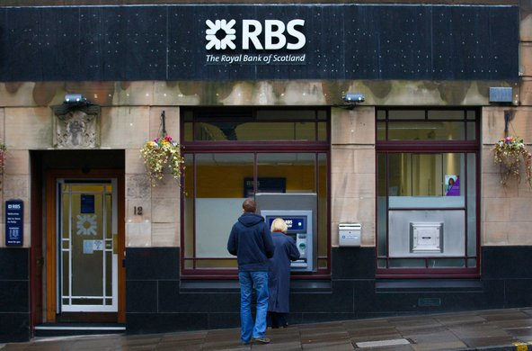 A branch of the Royal Bank of Scotland in Edinburgh.
