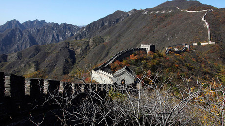 A section of the Great Wall of China © David Gray