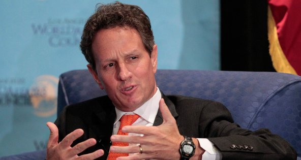 Timothy F. Geithner, the Treasury secretary.
