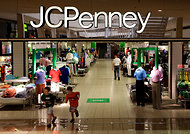 J.C. Penney reported a $123 million in the latest quarter.