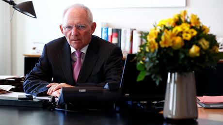 German Finance Minister Wolfgang Schaeuble © Fabrizio Bensch