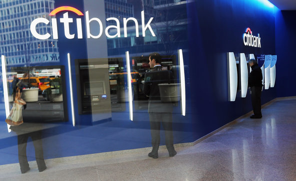 Citibank's earnings report said that the bank was helped by bond and stock trading revenue.