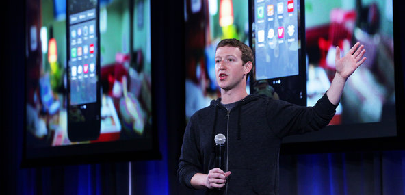 Mark Zuckerberg on Thursday.