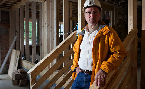 """Yeah, I feel good about winning,"" said Mark Patterson, whose construction company was hit by hackers."