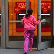 A branch of Wells Fargo in Manhattan.