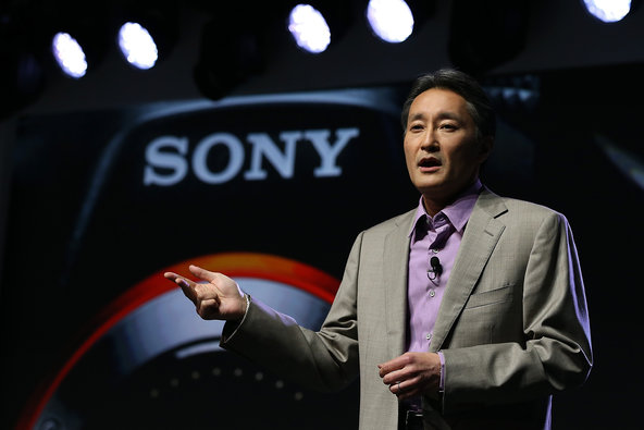 Kazuo Hirai, the chief of the entertainment and electronics colossus Sony.