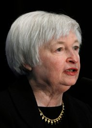 Janet Yellen, vice chairwoman of the Federal Reserve, shown at a conference in March, knows her way around a metaphor.