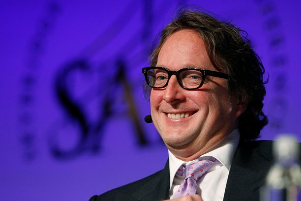 Philip Falcone, chief of Harbinger Capital Partners, at the SALT hedge fund conference last year.