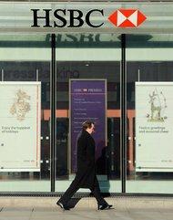 An HSBC bank in London.
