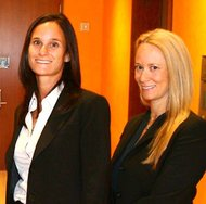Susan Parker (left) and Erica Rosenfeld, owners of Bari Jay.