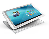 The Archos 101XS tablet features a magnetic keyboard that doubles as a cover.