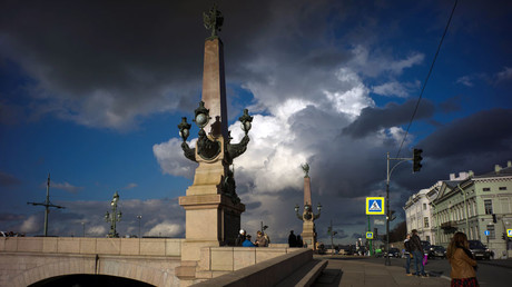 Trinity Bridge in St. Petersburg. © Alexei Danichev