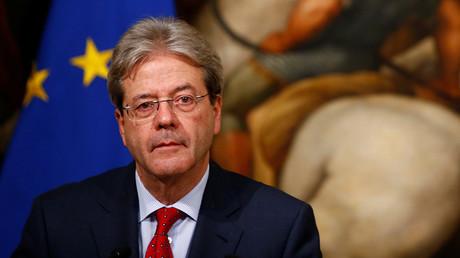 Italian Prime Minister Paolo Gentiloni © Tony Gentile