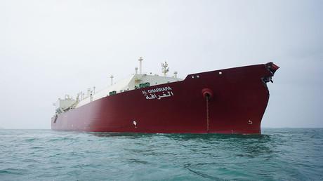 LNG tanker © Haryadi Be / Global Look Press
